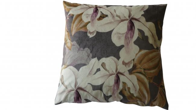 Kleur 2093 velvet anthraciet bloem groot