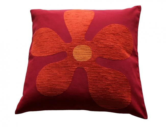 Kleur bloem rood/terra prijsgroep midden