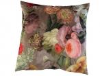 Nieuw in collectie Kleur 2071 velvet bloem groot taupe