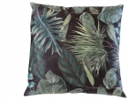 Nieuw in collectie Kleur 2081 velvet groen zwart palmblad