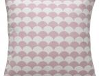 Sierkussens Roze wit halve circel pg midden